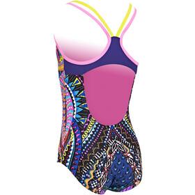 Zoggs Vintage Daisy Duoback Swimsuit Girls multi